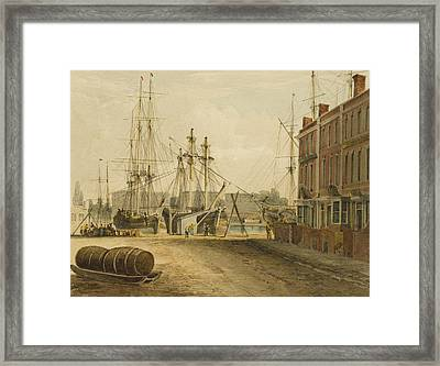 South End Of Prince's Street Framed Print