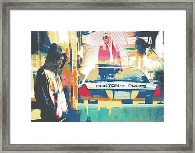 South End Framed Print by Shay Culligan