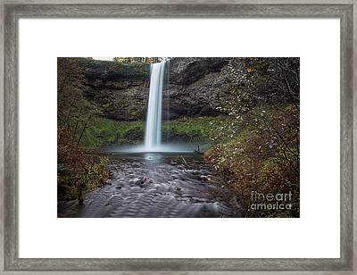 South Falls Framed Print