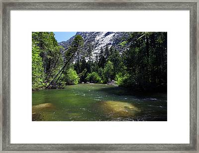South Fork Of The Kings River In Paradise Canyon Framed Print by Rick Pisio
