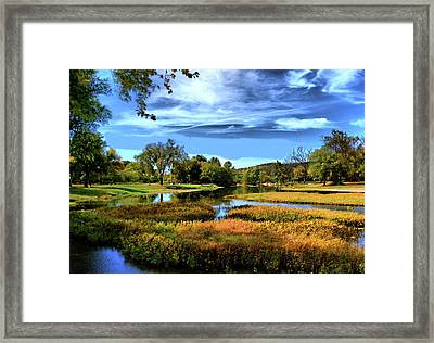 South Fork River Framed Print