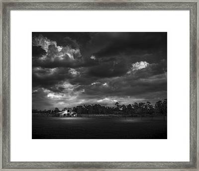 South Forty Bw2 Framed Print by Marvin Spates