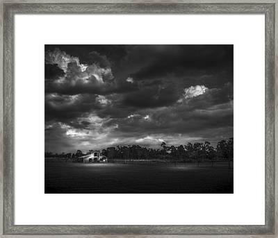 South Forty Bw2 Framed Print