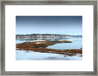 South Freeport Maine Framed Print