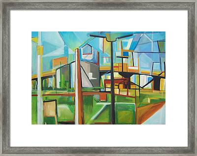 South Hackensack Framed Print by Ron Erickson