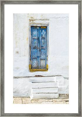 South Indian Door Framed Print by Tim Gainey