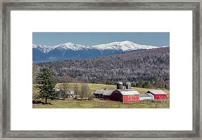 South Kirby Spring Framed Print by Tim Kirchoff
