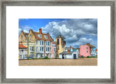 South Lookout Tower Aldeburgh Framed Print