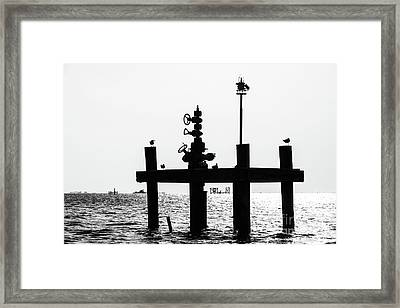 South Louisiana Production Framed Print