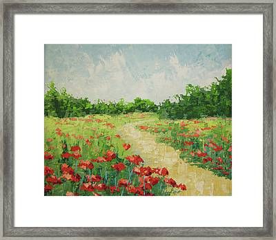 South Of France Rougon Framed Print by Frederic Payet