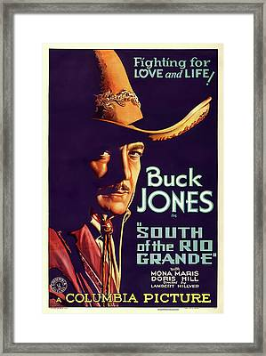 South Of The Rio Grande 1932 Framed Print by Columbia