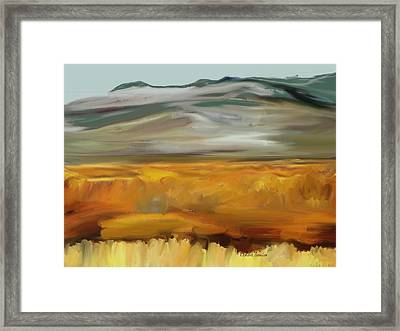 South Of Walden Framed Print