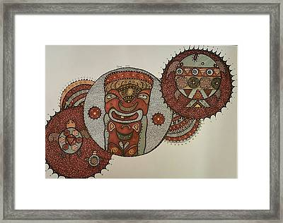 South Pacific 5 Framed Print by Annarine Chapman