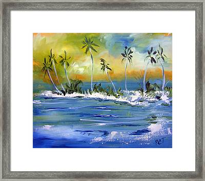 South Pacific Framed Print by Patricia Taylor