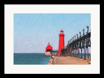 Grand Haven Framed Prints