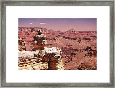 South Rim, Grand Canyon Framed Print by Noelle Smith