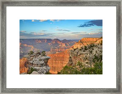 South Rim Framed Print