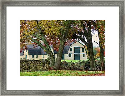 South Road Farm Framed Print