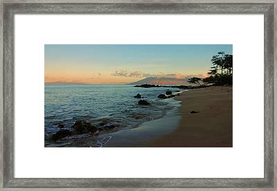 South Shore Dawn Framed Print
