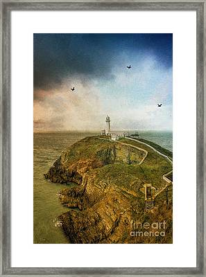 South Stack Lighthouse Framed Print
