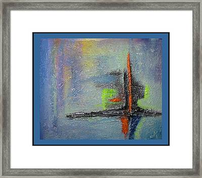 Framed Print featuring the mixed media South Star by Dragica  Micki Fortuna