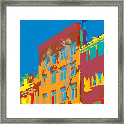 South Street Framed Print by Kevin  Sherf