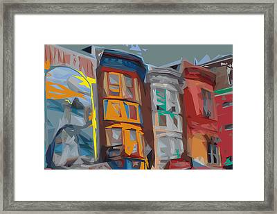 South Street Revisited Framed Print by Kevin  Sherf