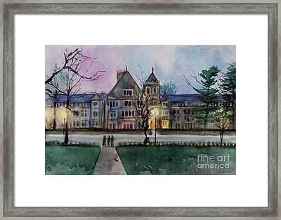 South University Avenue 2 Framed Print