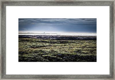 South West Iceland Framed Print