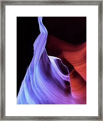 South West Light Framed Print