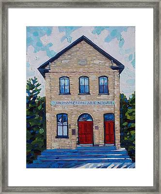 Southampton Art School Framed Print