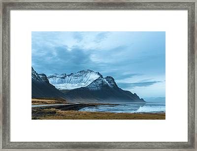 Southeast Iceland Countryside Framed Print