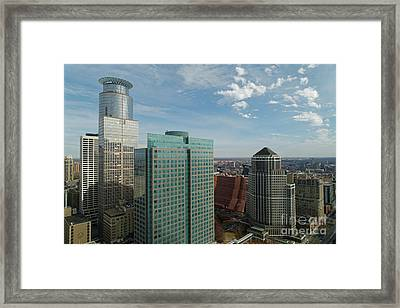 Southeast View From The Foshay Observation Deck Framed Print by Natural Focal Point Photography