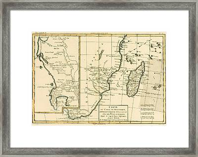 Southern Africa Framed Print