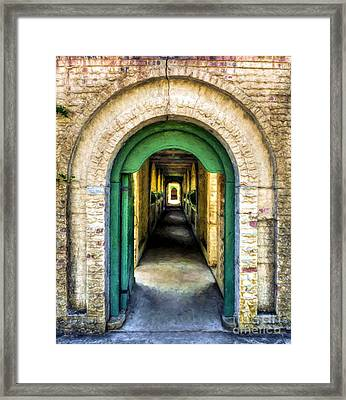 Southern Arches # 2 Framed Print