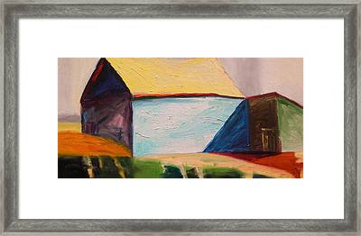 Southern Barn Framed Print by John Williams