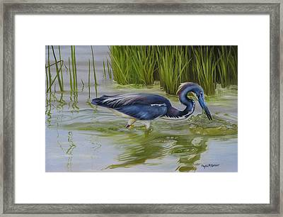 Southern Blues Framed Print
