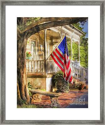 Southern Charm Framed Print