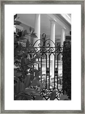 Southern Charm Framed Print by Debbie Karnes