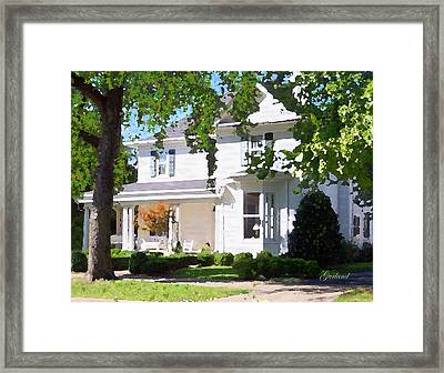 Southern Charm Framed Print by Garland Johnson