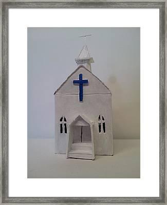 Southern Church Framed Print