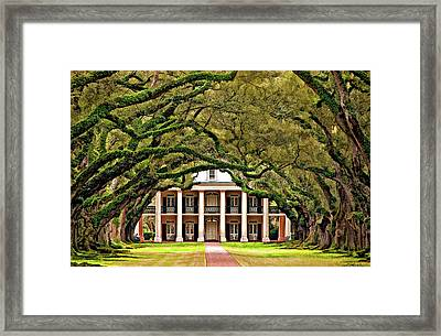 Southern Class Painted Framed Print