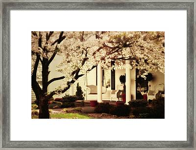Southern Comfort Framed Print by Kathy Jennings