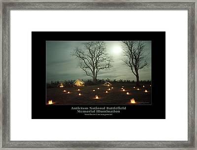 Southern Encampment 90 Framed Print by Judi Quelland