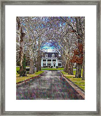 Southern Gothic Framed Print by Bill Cannon