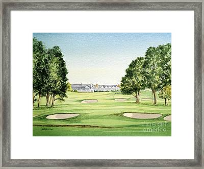 Southern Hills Golf Course 18th Hole Framed Print