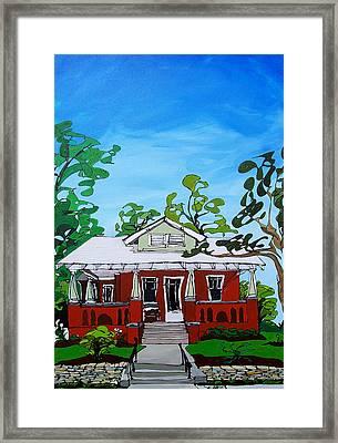 Southern Home Framed Print