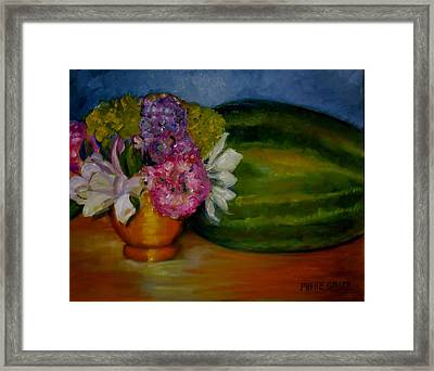 Southern Hospitality Framed Print by Phebe Smith