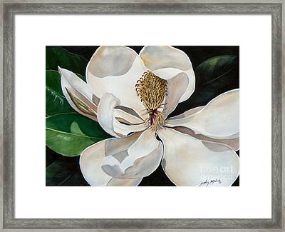 Southern Lady    Sold Framed Print