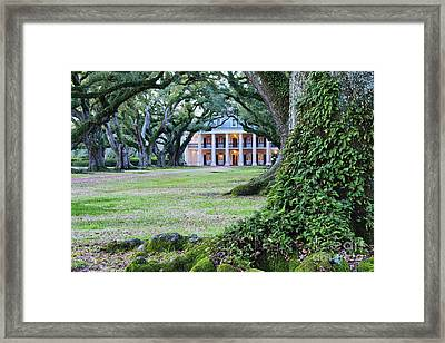 Southern Manor Home Framed Print by Jeremy Woodhouse